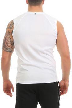 Herren Fitness T-Shirt ohne Ärmel Smash – Bild 3