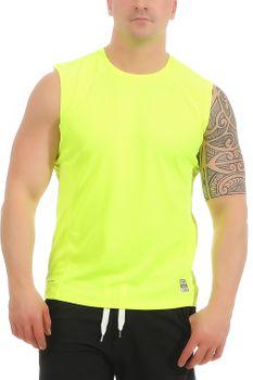Herren Fitness T-Shirt ohne Ärmel Smash – Bild 15