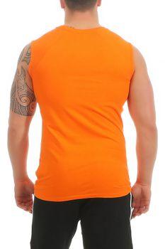 Herren Shirt ohne Ärmel, Baumwolle, Shore – Bild 18