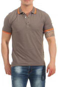 Herren Poloshirt im sportlichen Design, Skipper – Bild 1