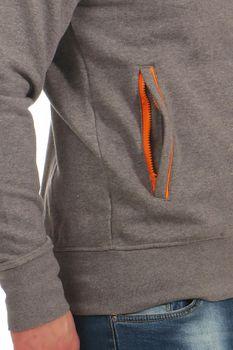 Herren Sweater mit Stehkragen und halben Reißverschluss Rio – Bild 14