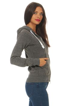 Damen Sweatjacke Urban Lady – Bild 8
