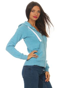 Damen Sweatjacke Urban Lady – Bild 2