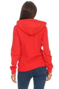 Damen Sweatjacke mit Kapuze London – Bild 8