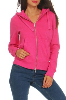 Damen Sweatjacke mit Kapuze London – Bild 9