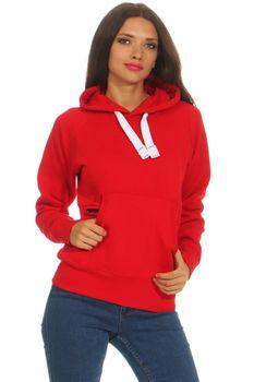 Damen Pullover mit Kapuze, einfarbig Atlanta – Bild 22