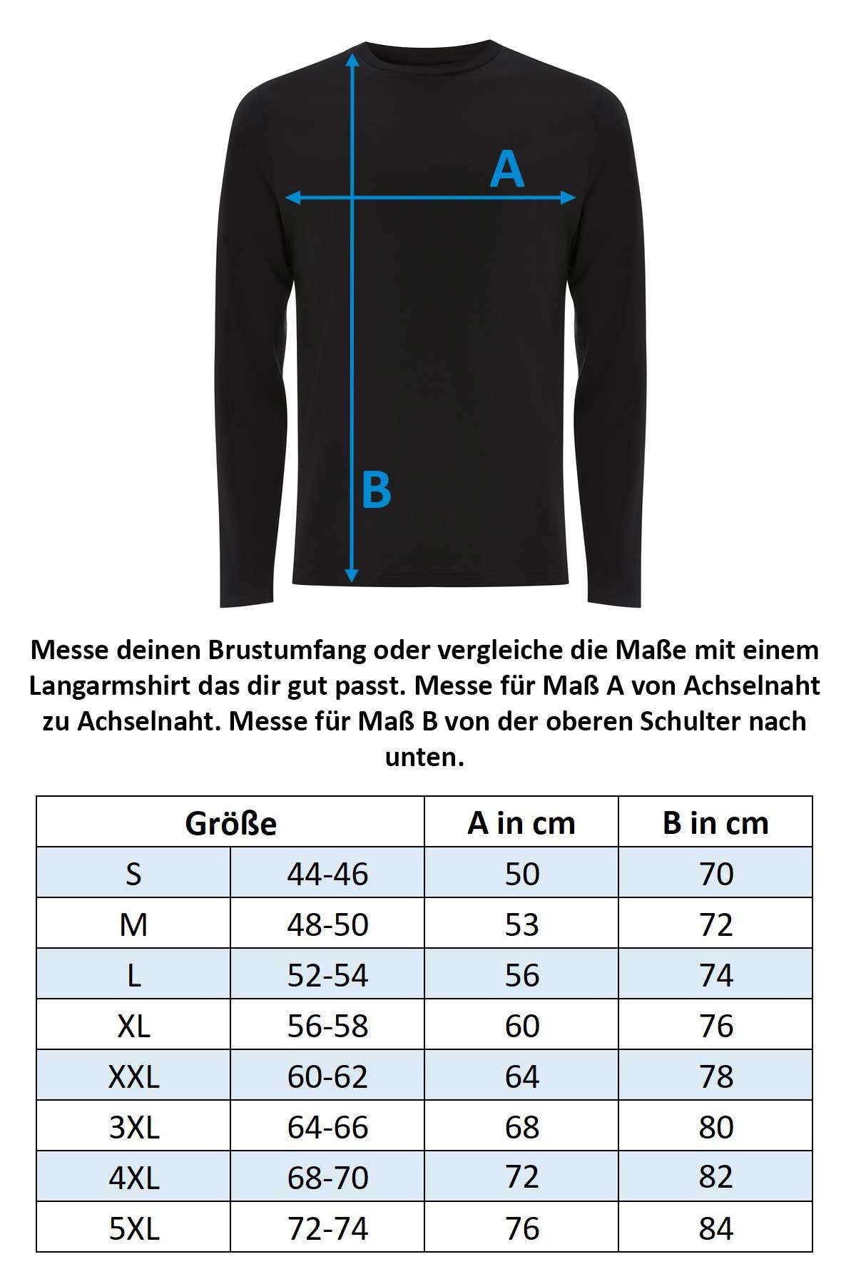 Groessentabelle-Happy-Clothing-Langarmshirt