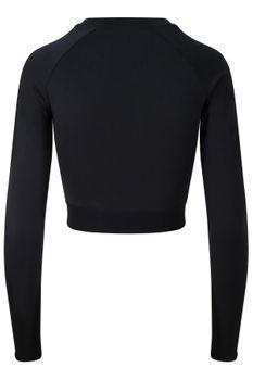 Damen Langarmshirt bauchfrei – Bild 2