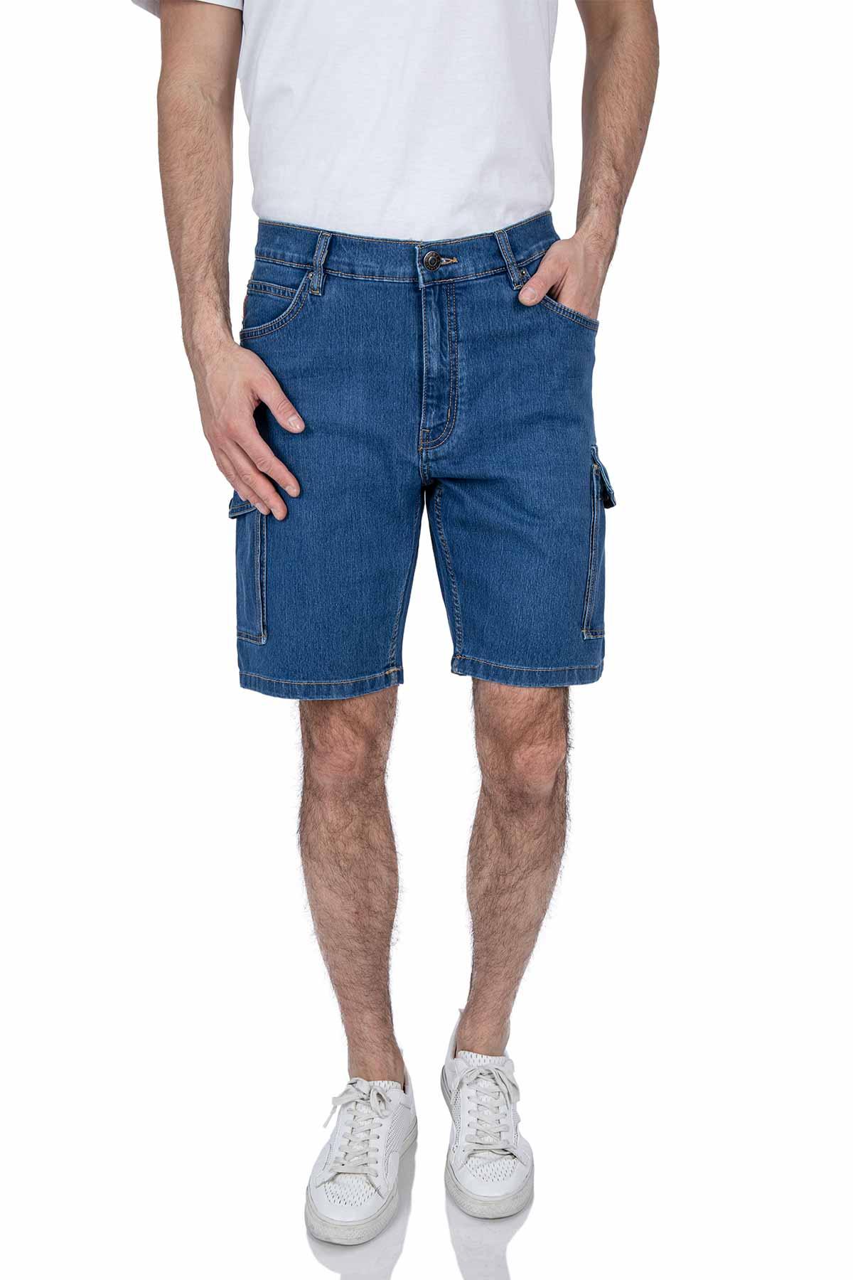 Herren Cargoshorts mit Seitentaschen im Jeans Design Jeep