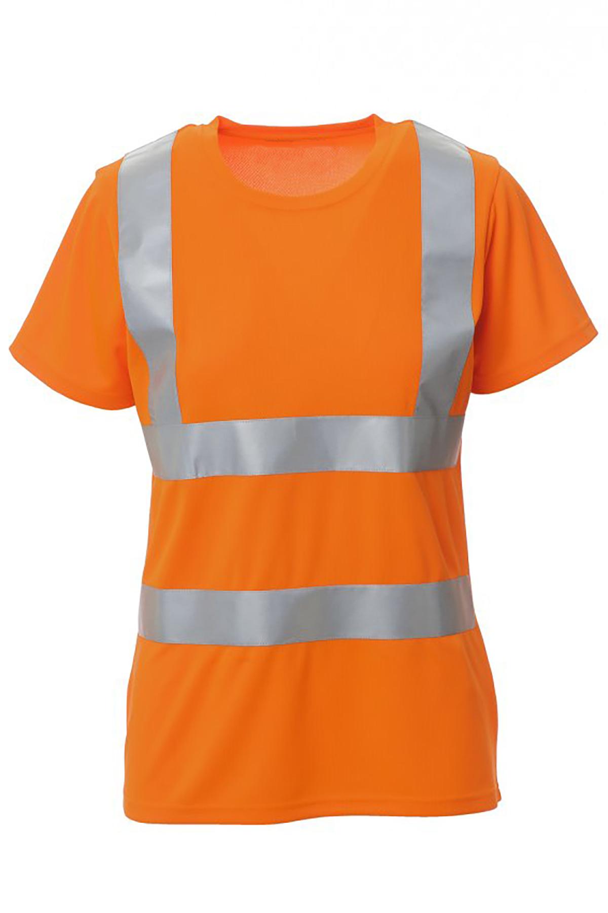 Damen Warnschutz T-Shirt Warnshirt Avenue