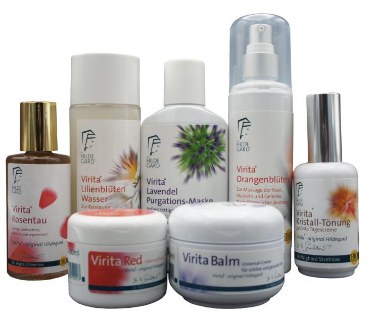 Virita Hildegard Kosmetik nach Dr. Strehlow