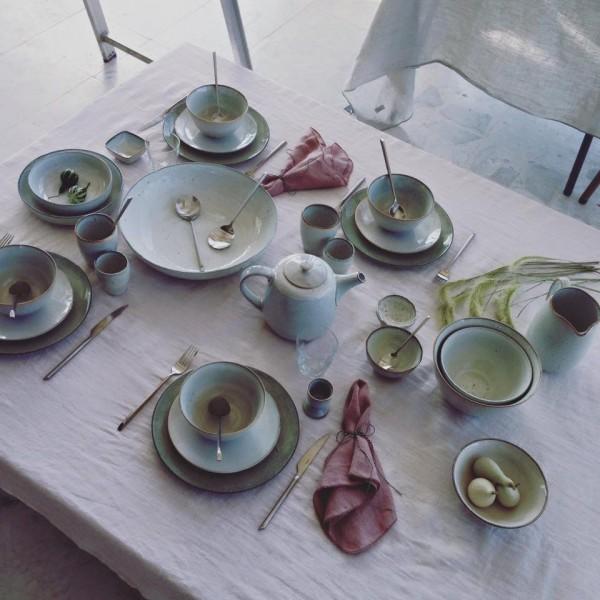 broste copenhagen nordic sand sch ssel schale f r salat. Black Bedroom Furniture Sets. Home Design Ideas