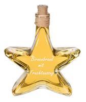 10 x Williams - Christ Birnen Brand mit Fruchtauszug, 0,2l Stern Flasche   10% Mengenrabatt