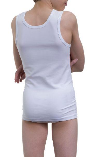 Jungen Unterhemd 3er Pack,  Single Jersey, Baumwolle/Elasthan – Bild 5