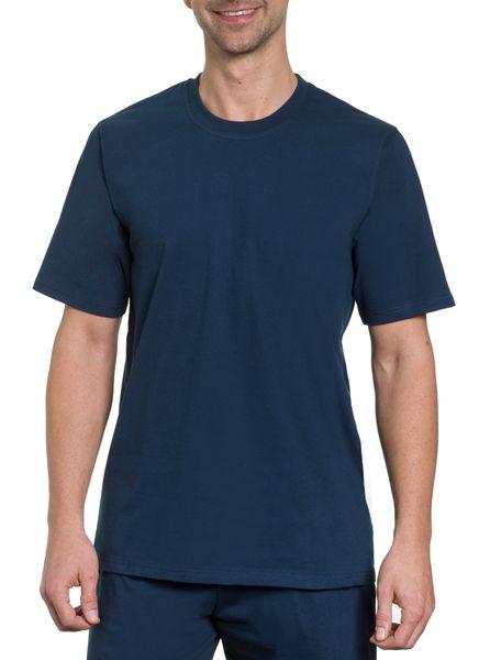 Herren T-Shirt 2er Pack,  Rundhals, 1/2 Arm, Single Jersey, reine Baumwolle – Bild 1