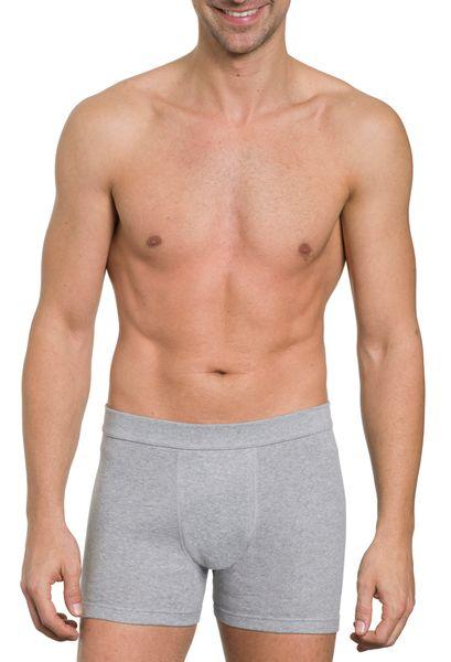 Herren Pants 3er Pack, ohne Eingriff, Feinripp, reine Baumwolle, elastischer Weichbund