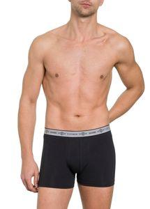 Herren Pants 3er Pack ohne Eingriff, Single Jersey, Baumwolle/Elasthan, Webgummibund mit eingewebtem Bodywear Logo 001