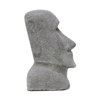 Osterinsel Moai Steinfigur Lavastein Rapa Nui Figur Stein Statue 30 cm – Bild 4