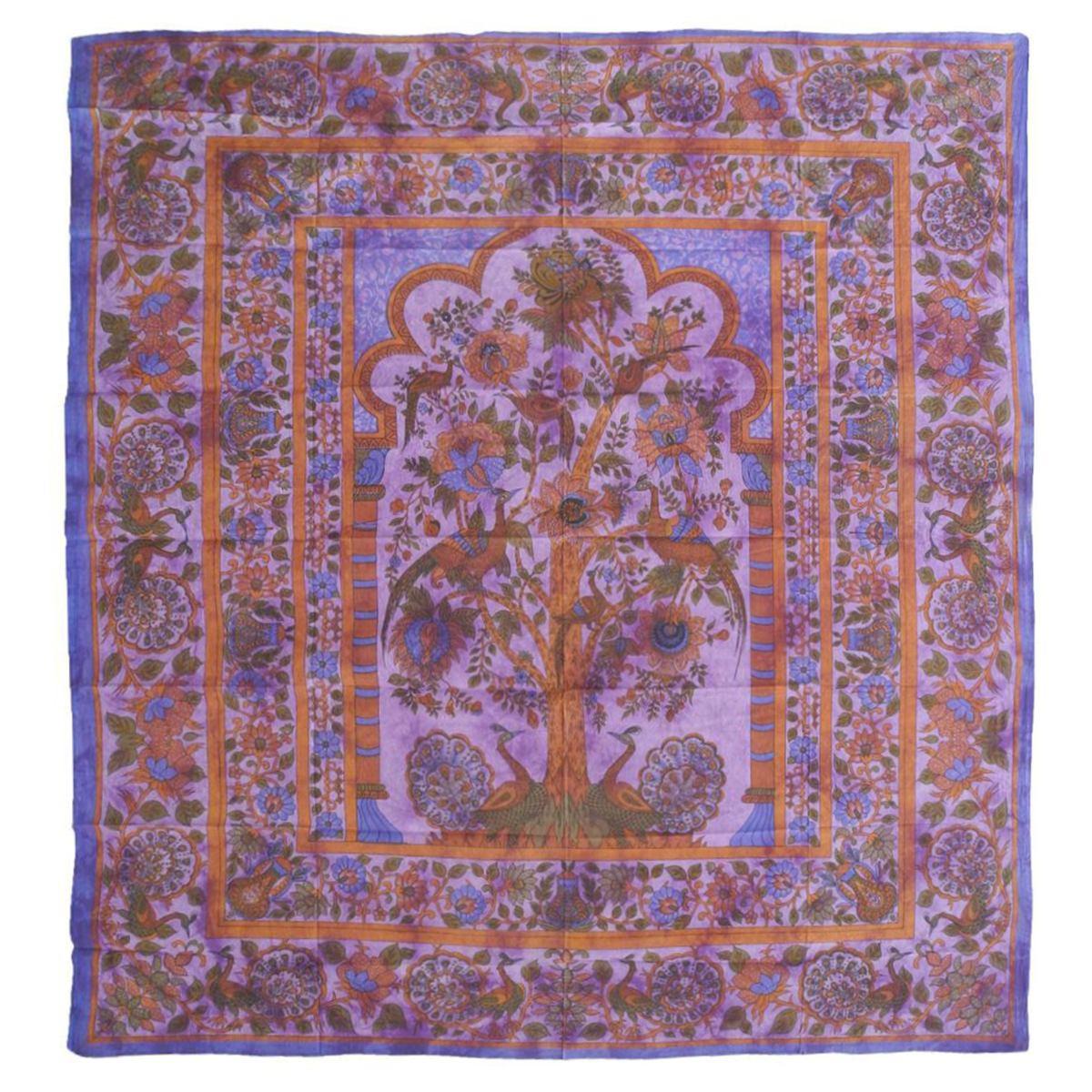 Tagesdecke Lebensbaum Tree Of Life Bettüberwurf Wandbehang Decke ...