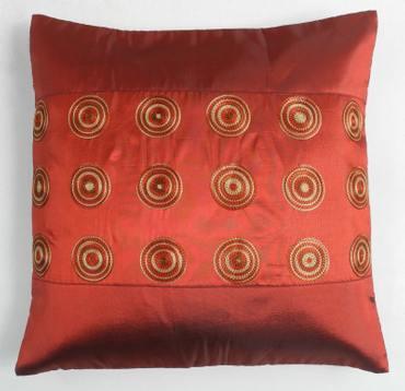 Kissenbezug Kissenhüllen Kreis 40x40cm Indien Polyester Überzug Kissen Kissenbezug Neu