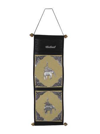 Stofftaschen Aufbewahrung Tasche Beutel Elefant Asien – Bild 1