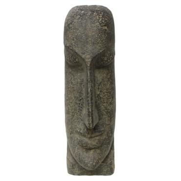 Osterinsel Moai Figur Skulptur Stein Lavasand Bali Tiki Garten Deko 59cm – Bild 4