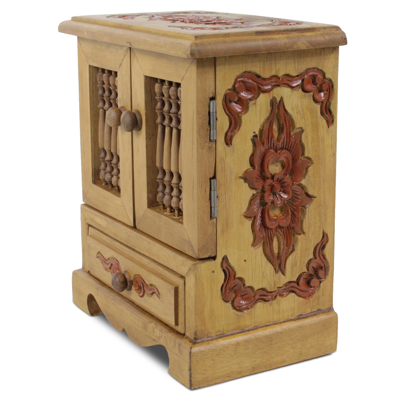 schmuckschrank schmuckschatulle schr nkchen schmuckkasten. Black Bedroom Furniture Sets. Home Design Ideas