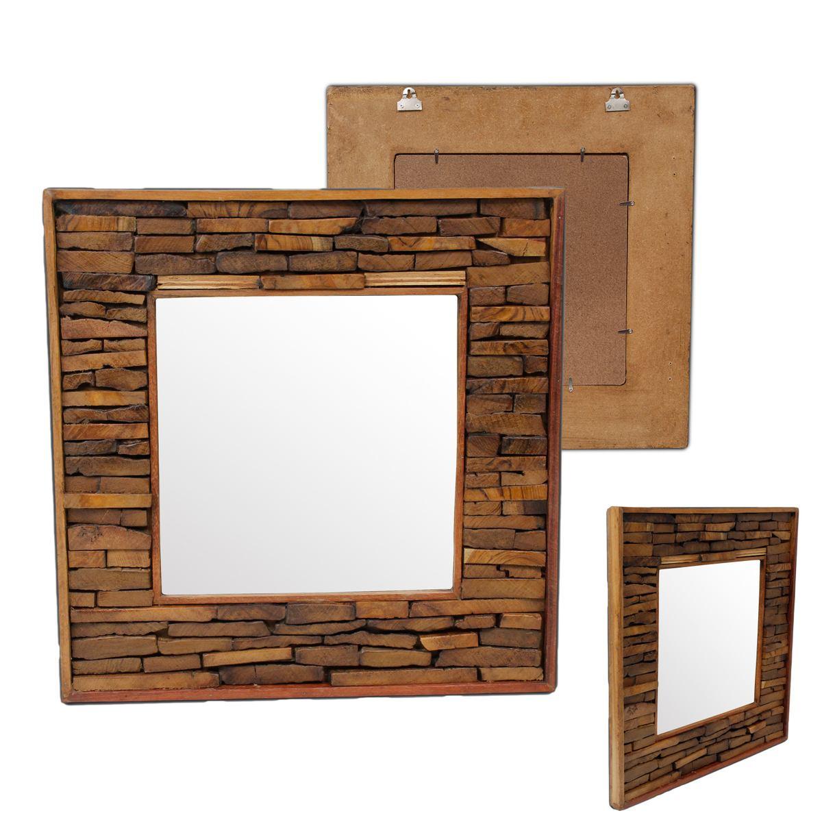 wandspiegel spiegel holzspiegel rahmen holzrahmen thailand. Black Bedroom Furniture Sets. Home Design Ideas