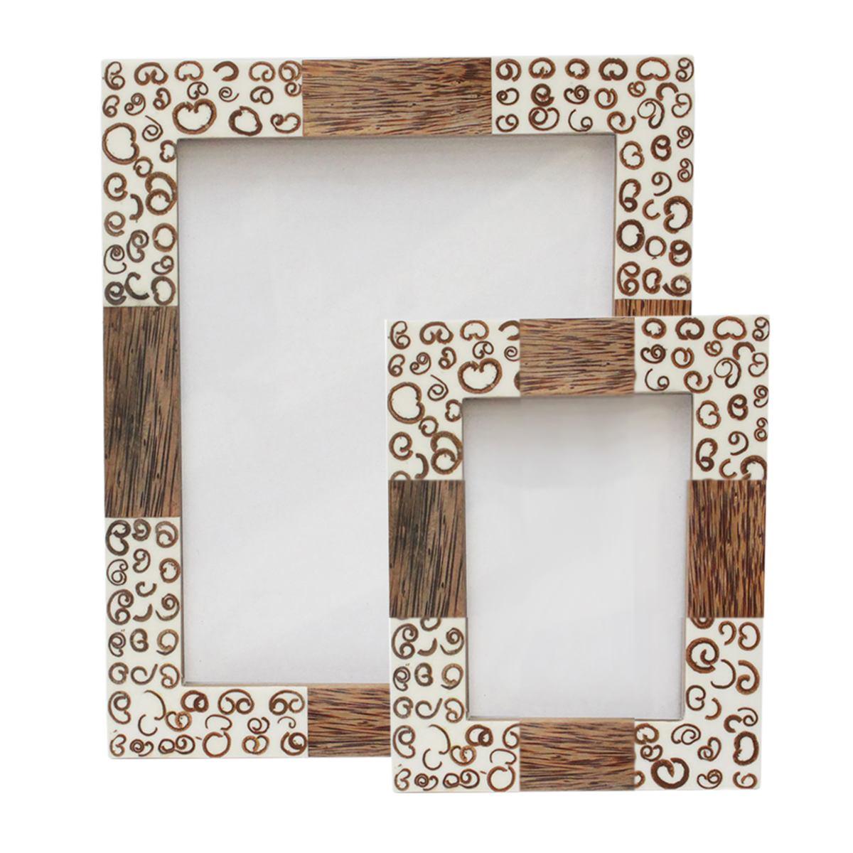 Holzbilderrahmen Fotorahmen Bilderrahmen mit Glas Rahmen aus ...