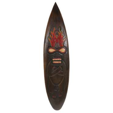 Surfbrett Deko Holzschild Hawaii Wandbrett Brett Bar Party ca. 100 cm – Bild 11