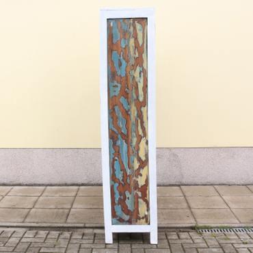 Großes Regal im Shabby Chic Look aus Indonesien ca. 130x40x180 (LBH) Holzregal Bücherregal Wandregal – Bild 8