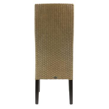 B-Ware Esszimmerstuhl Loomstuhl Kunstleder Stuhl Küchenstuhl 47 x 67 x 104 cm Dunkelbraun  – Bild 9
