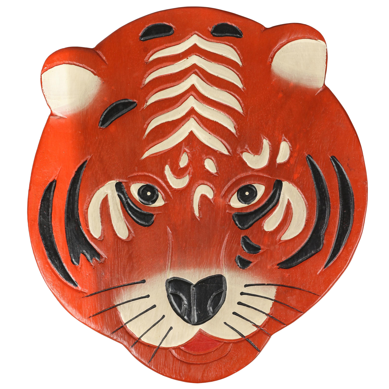 kinderhocker tiger hocker rundhocker holzhocker sitz. Black Bedroom Furniture Sets. Home Design Ideas