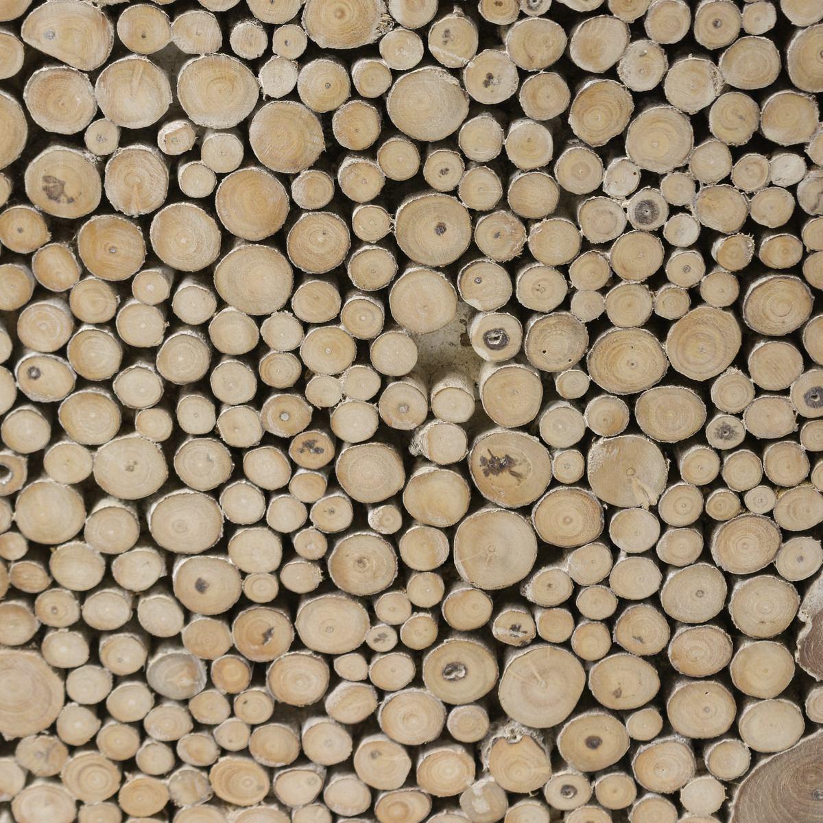 hocker massiv teakholz natur stuhl wurzel block holz klotz konisch natur 40x40cm m bel hocker. Black Bedroom Furniture Sets. Home Design Ideas