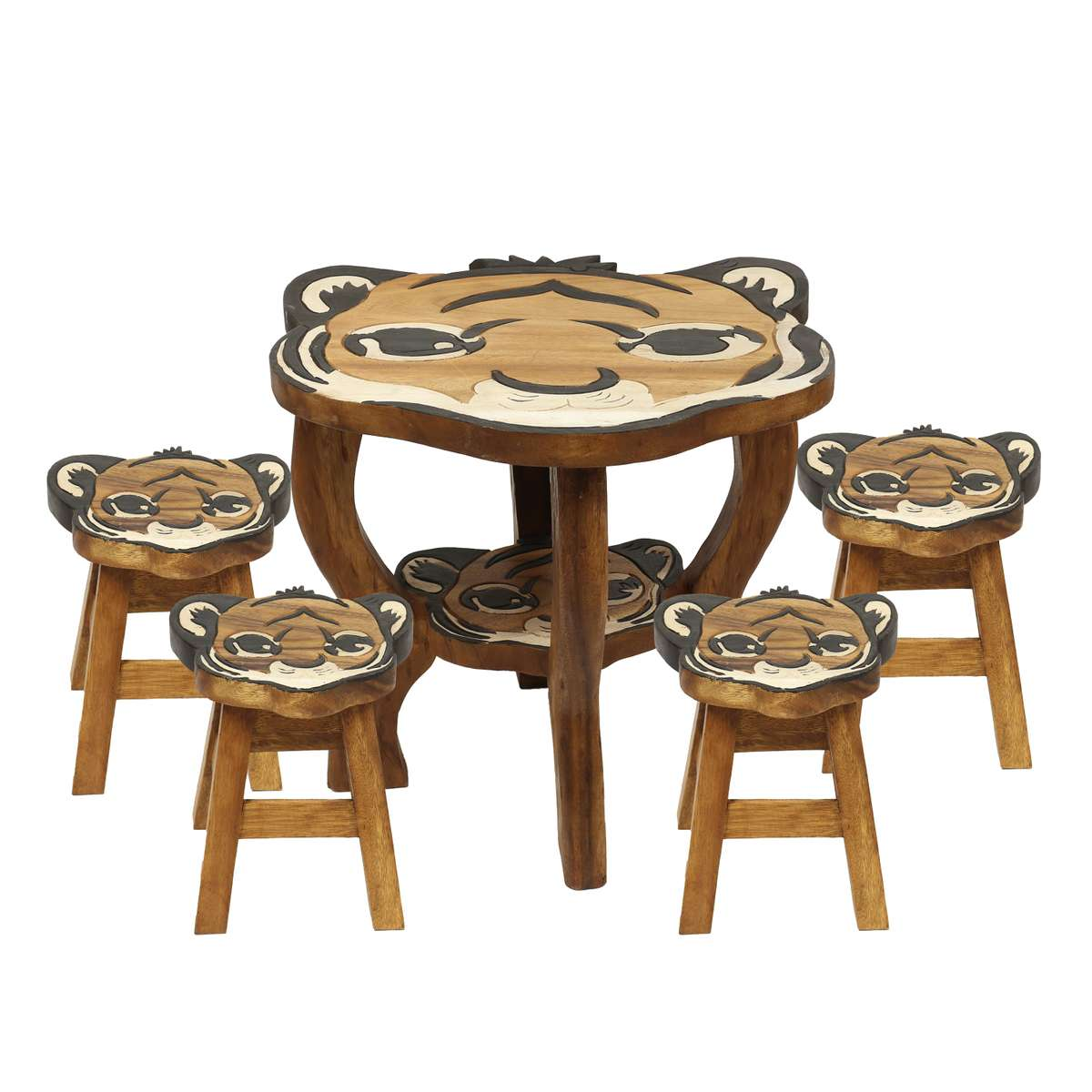 Paket Kinder Sitzgruppe Tische Und Stühle 5er Set Tischgruppe