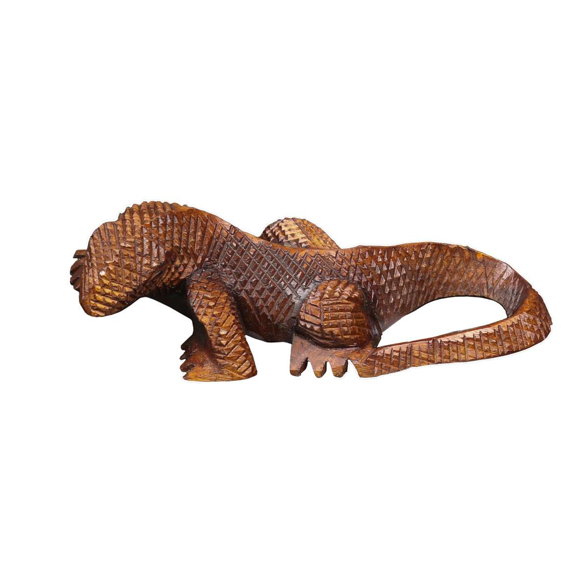 je 31 x 14 cm Home3010 2er Set gro/ße Eidechse Gecko Salamander *Drache gr/ün* Kunstharz