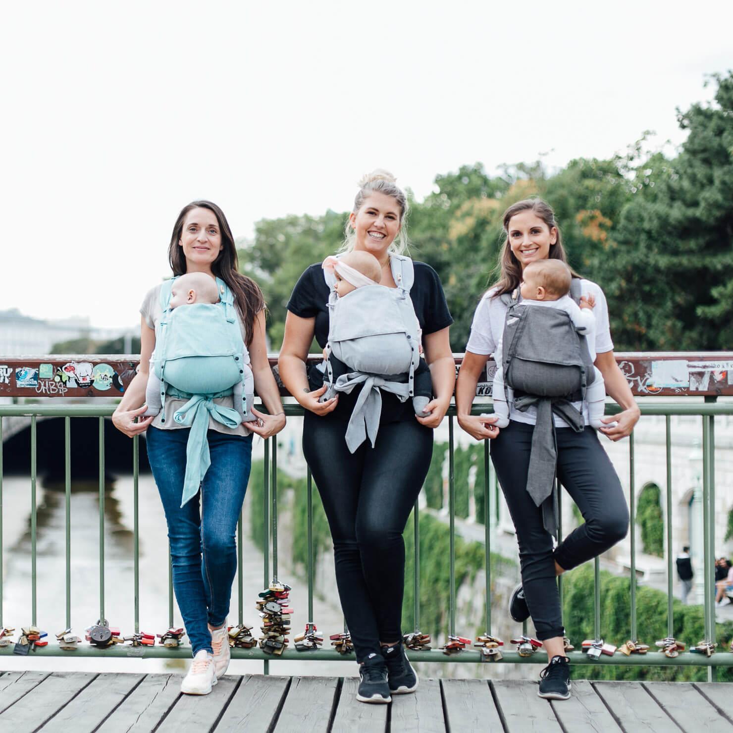 Drei Mamis mit Fräulein Hübsch SoftTai