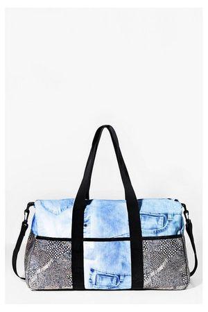 Desigual Life Bag Luxury Jeans Sporttasche