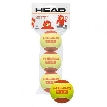 Head 3B TIP red - 4DZ Tennisbälle