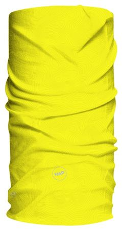H.A.D Coolmax Wind Protection Topo Fluo Yellow Multifunktionstuch