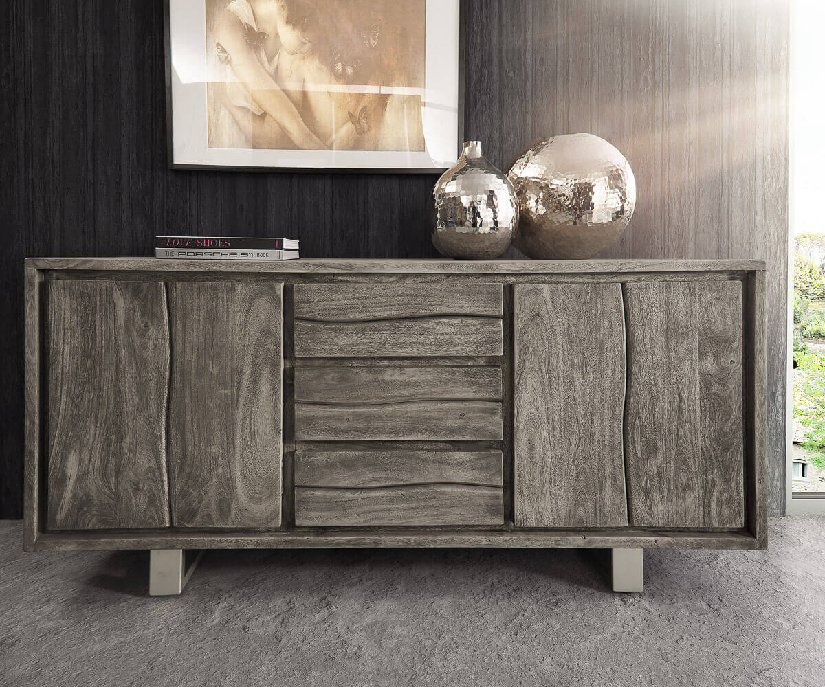 Akazie Möbel in Platin