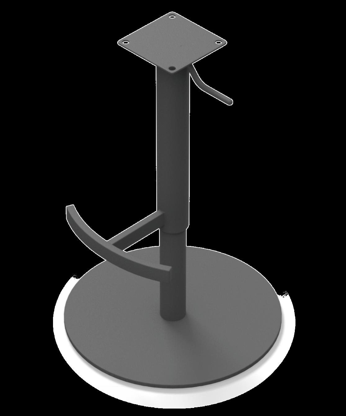 Sitzgestell Drehfuß