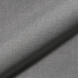 Clovis - Stoffmuster grau Flachgewebe