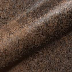 Clovis - Stoffmuster braun Microvelour