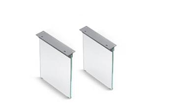 Tischgestell aus Glas