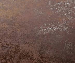 Edge Esstisch aus den Material Glas und Farbe Antik Braun