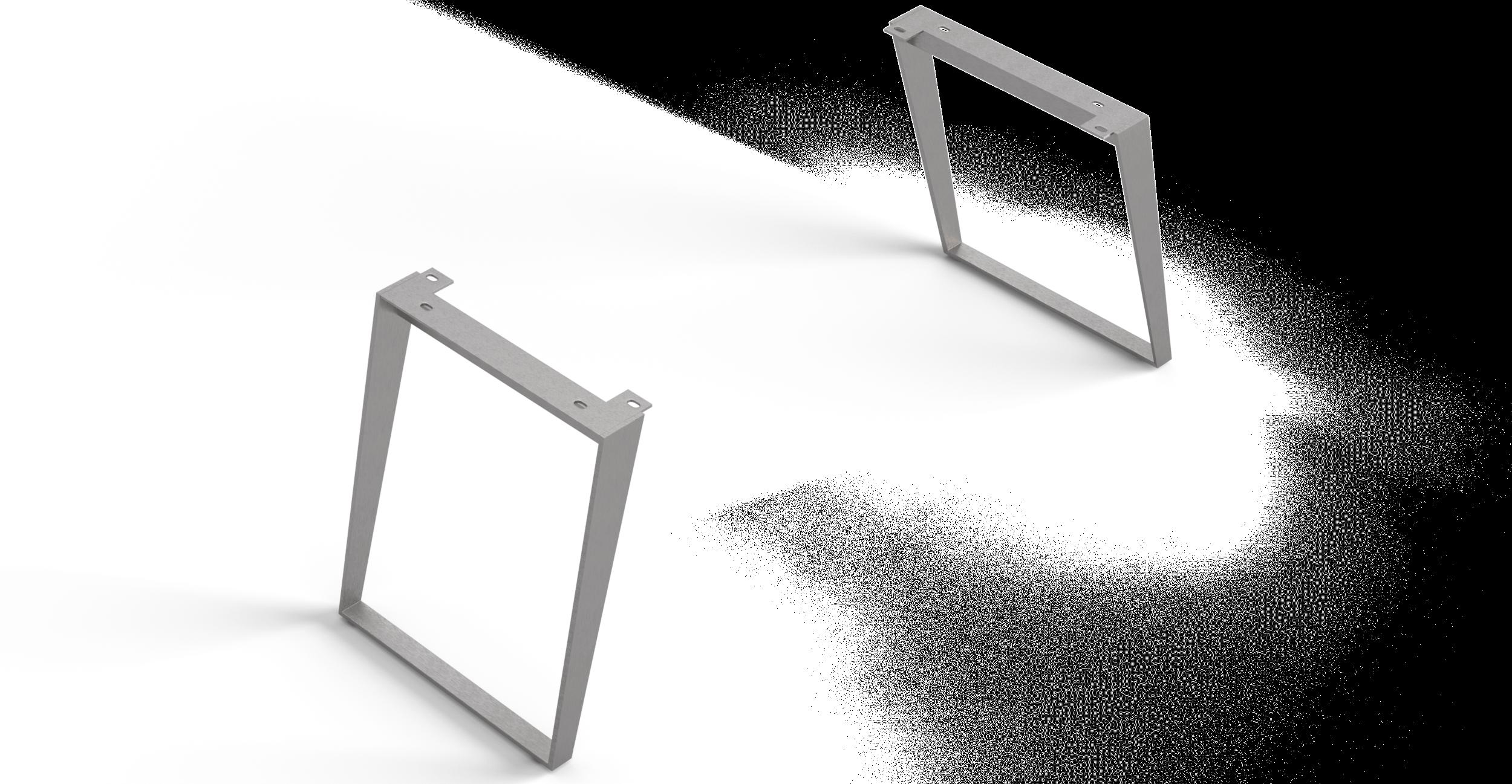 Esstische-Fuss Edge Serie 200cm Schräg