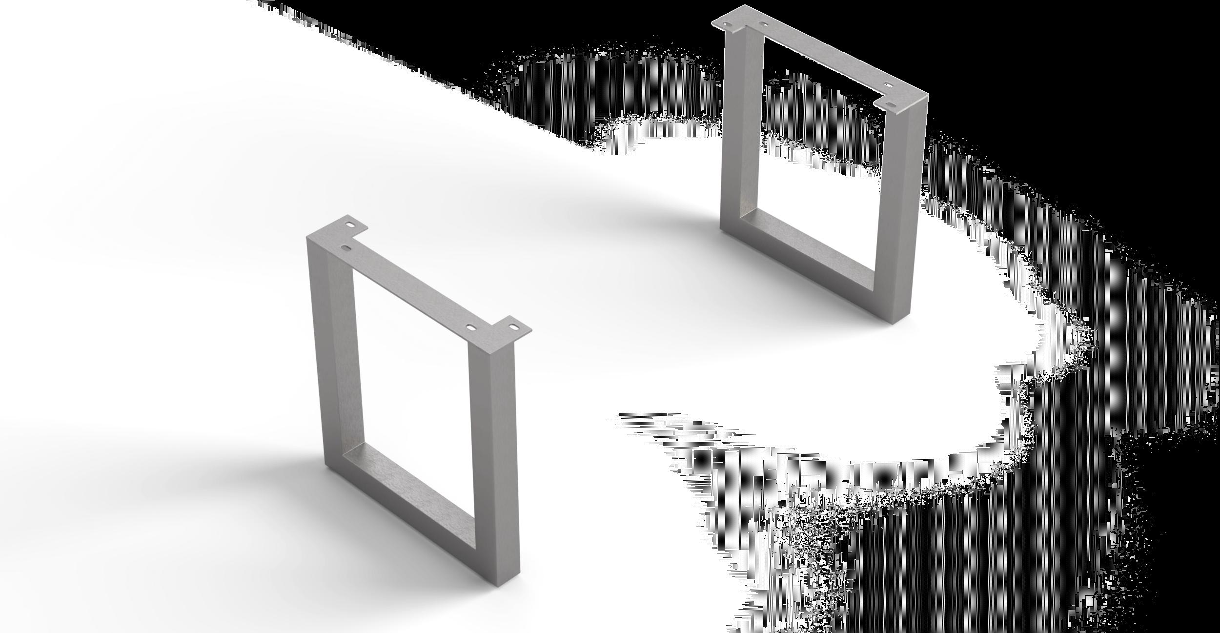 Esstische-Fuss Edge Serie 200cm Breit