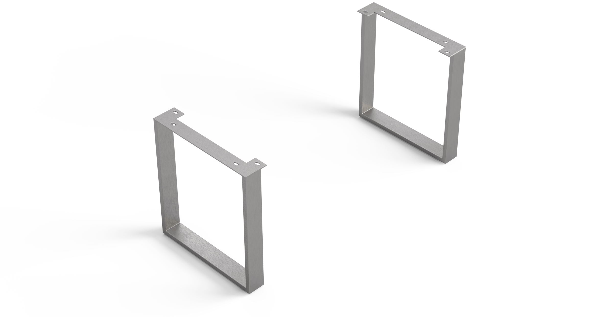 Esstische-Fuss Edge Serie 200cm Schmal