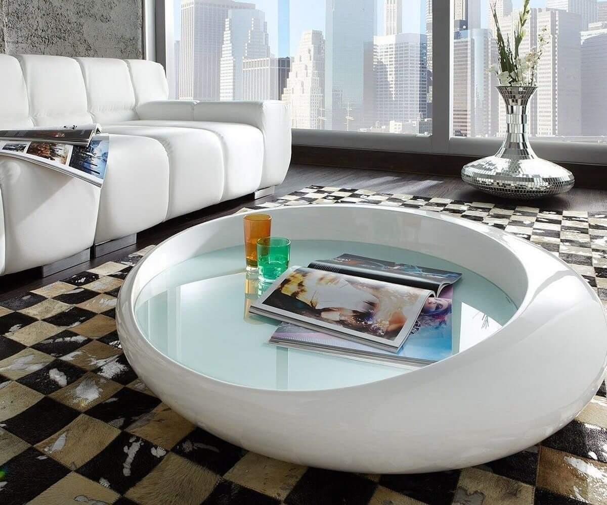 Hochglanz Möbel in Weiß
